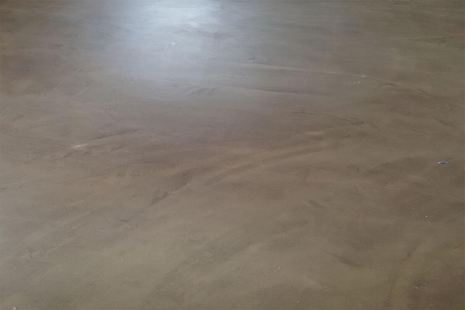 Pavimento in resina - Effetto Velato